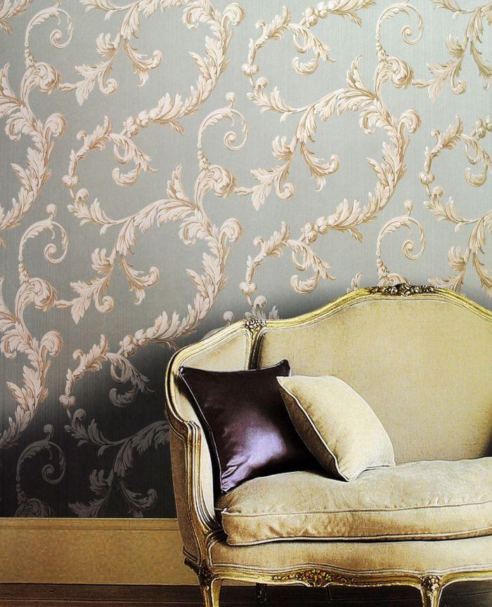 美式风格墙纸图片