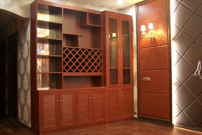 苹果木豪华酒柜