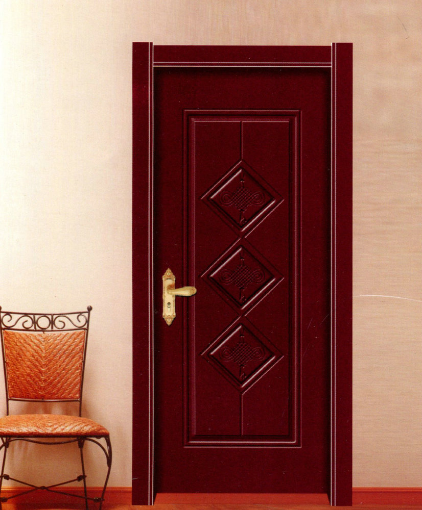 实木复合烤漆门001