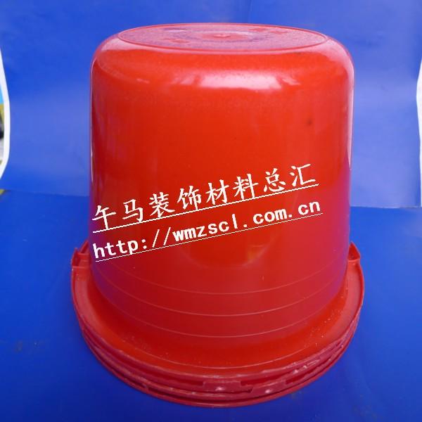 大号油漆红桶 午马装饰材料总汇 成都粘合剂批发 四川