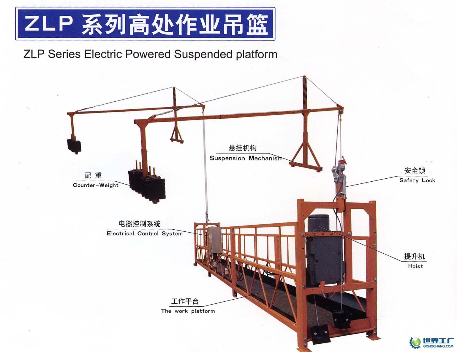 外墙升降吊篮电路图