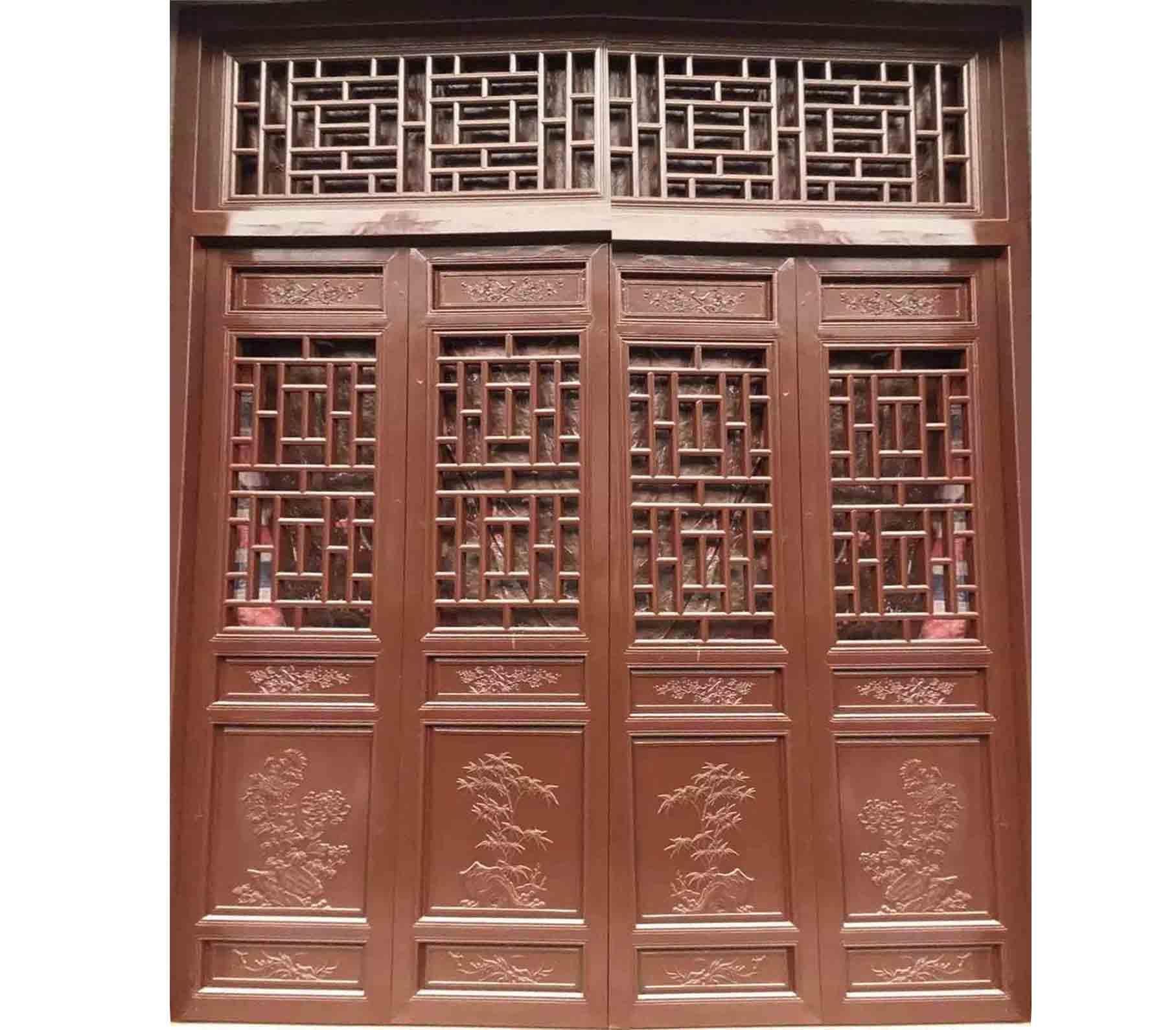 门窗花格-门窗花格-西安古林轩仿古木雕厂—西安仿古