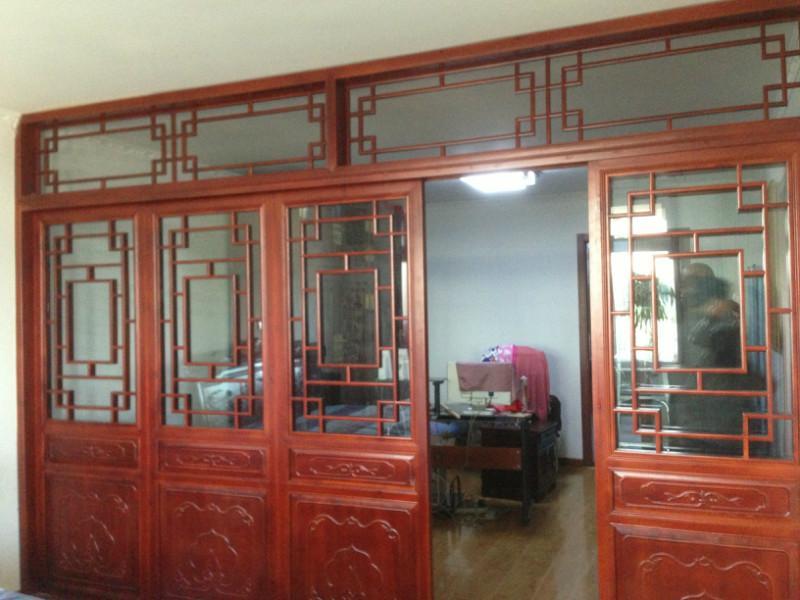门窗花格04-西安如意木雕加工厂