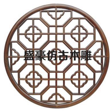 sh-009【 圆形花格 】
