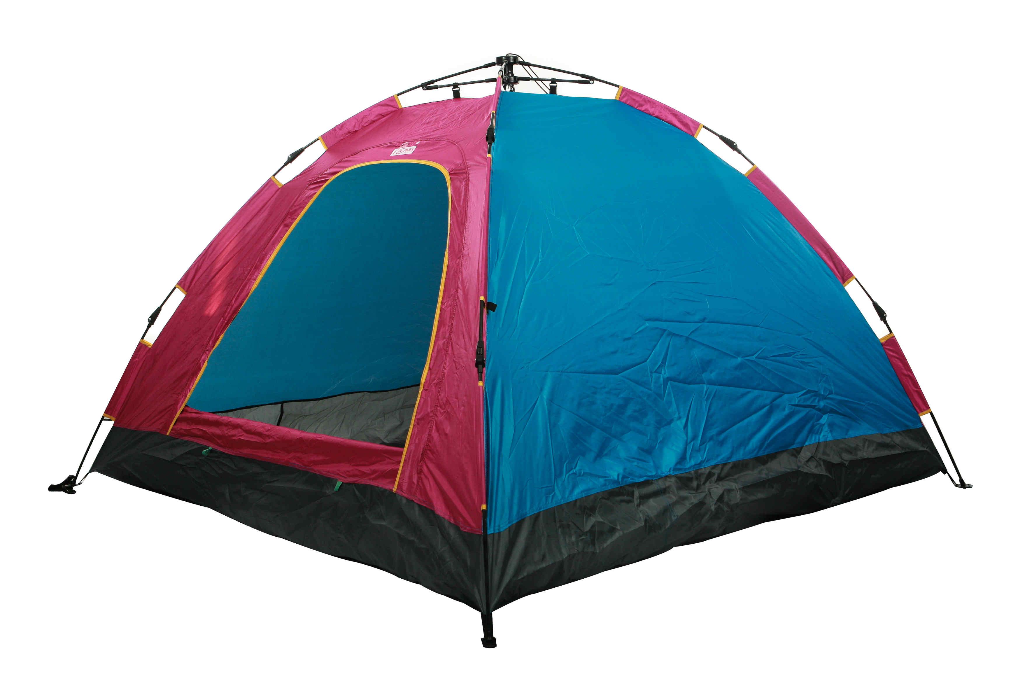 开拓无边帐篷安装图解