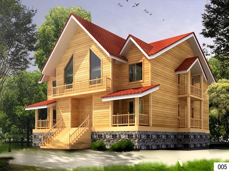 人类使用木结构房屋在全世界已经有几千年历史,中国的大量古建筑也