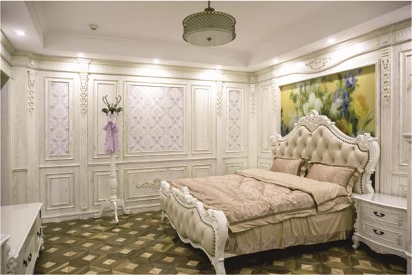 卧室集成墙板装修效果图