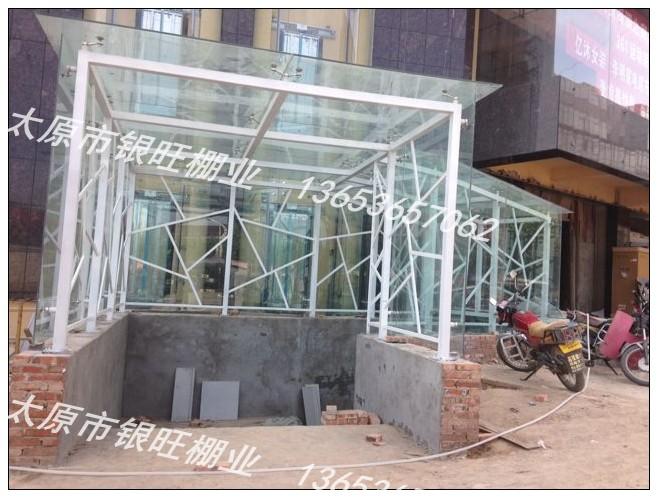 玻璃阳光棚 山西太原玻璃雨棚