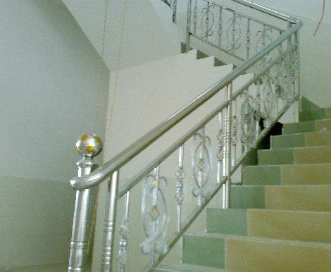 永盛不锈钢楼梯扶手