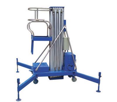 升降机原图; 双柱液压升降平台高空作业车图; 链条式液压升降机图片