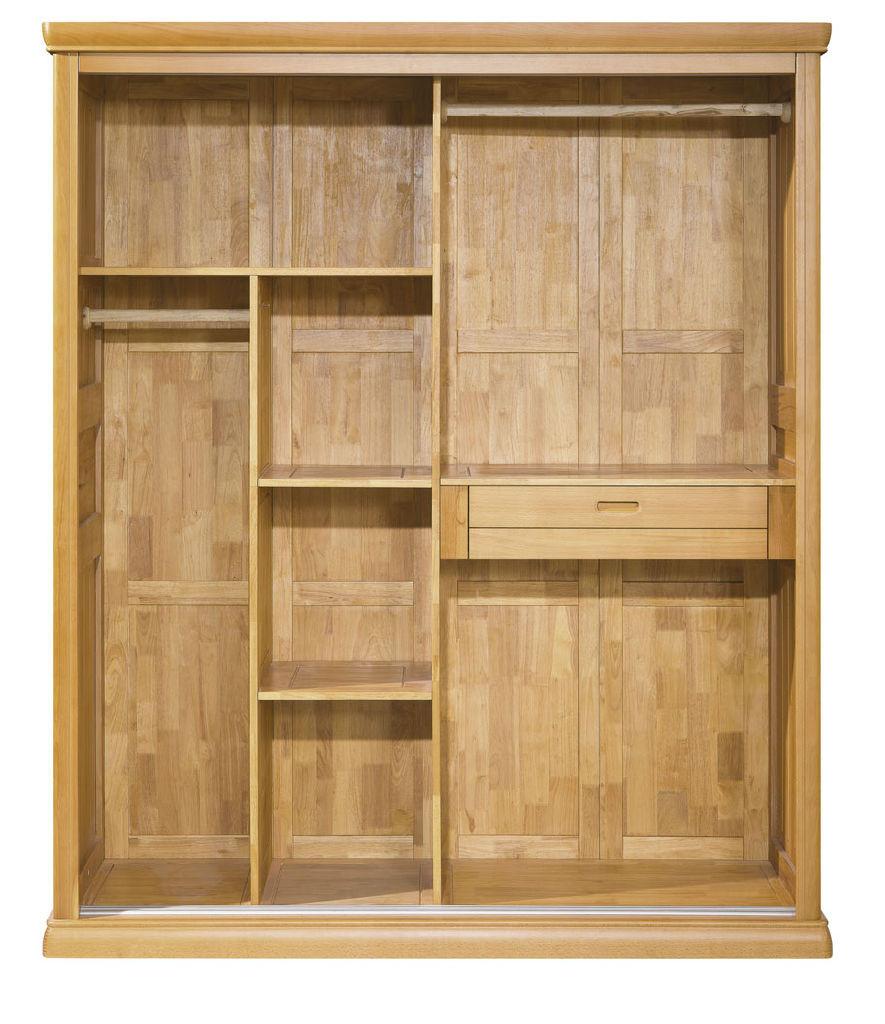>实木整体衣柜系列