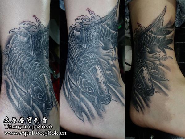 山西苍穹纹身图片