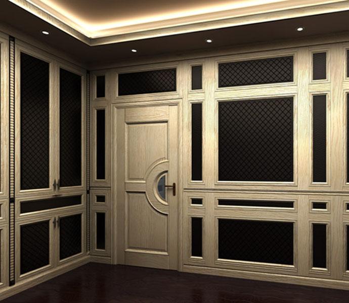护墙板(护墻板):又称墙裙,壁板。护墙装饰板是近年来发展起来的新型装饰墙体的材料,一般采用木材等为基材。护墙装饰板具有质轻,防火、防蛀,施工简便,造价低廉,使用安全,装饰效果明显,维护保养方便等优点。它既可代替木墙裙,又可代替壁纸、墙砖等墙体材料,因此使用十分广泛。 主 营:安步楼梯,郑州实木楼梯生产厂家,河南钢木楼梯厂家批发,郑州整体衣柜定制家具