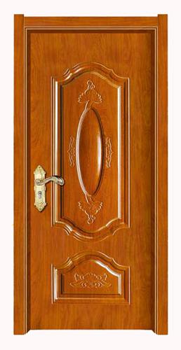 豪华钢木套装门g-029 郑州强化烤漆套装门厂家,郑州钢