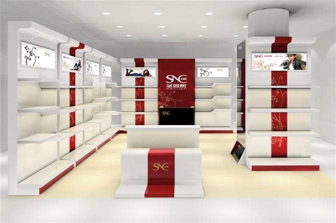 鞋店展厅平面设计图