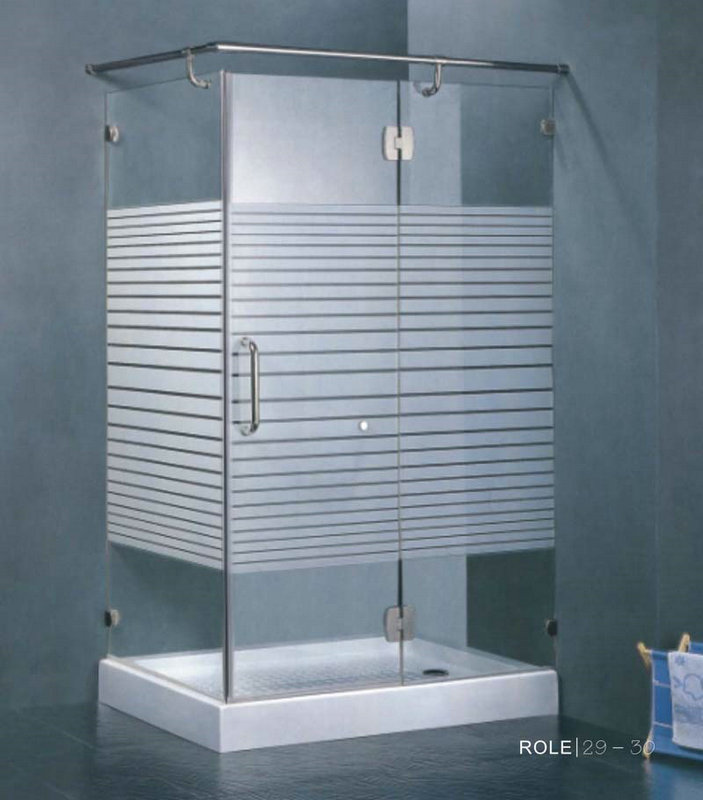 酒店淋浴房玻璃-002