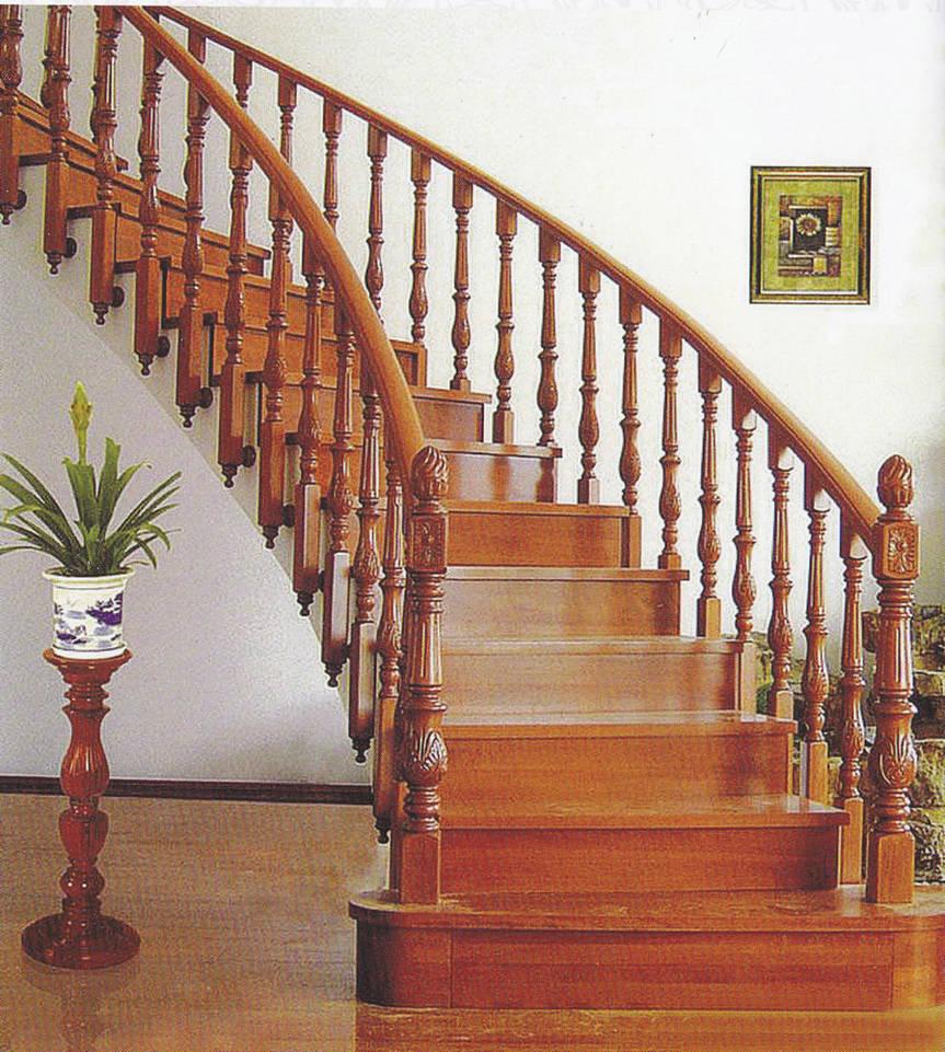 实木楼梯015