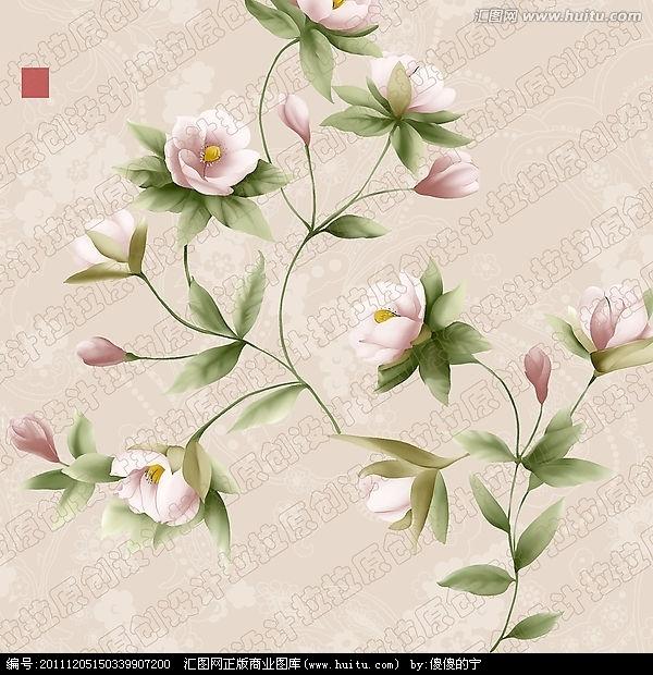 日本花卉图案