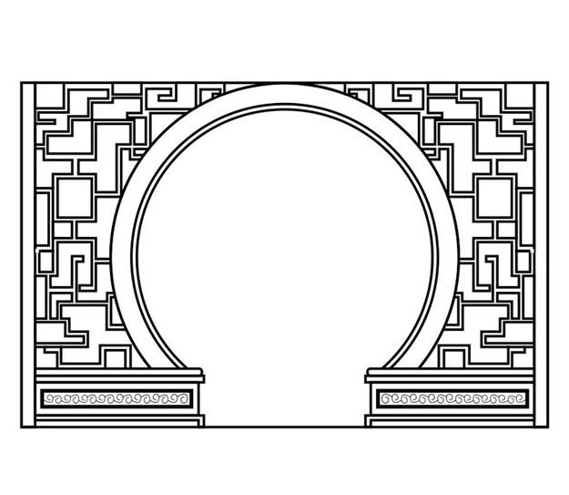 落地罩(中式图片
