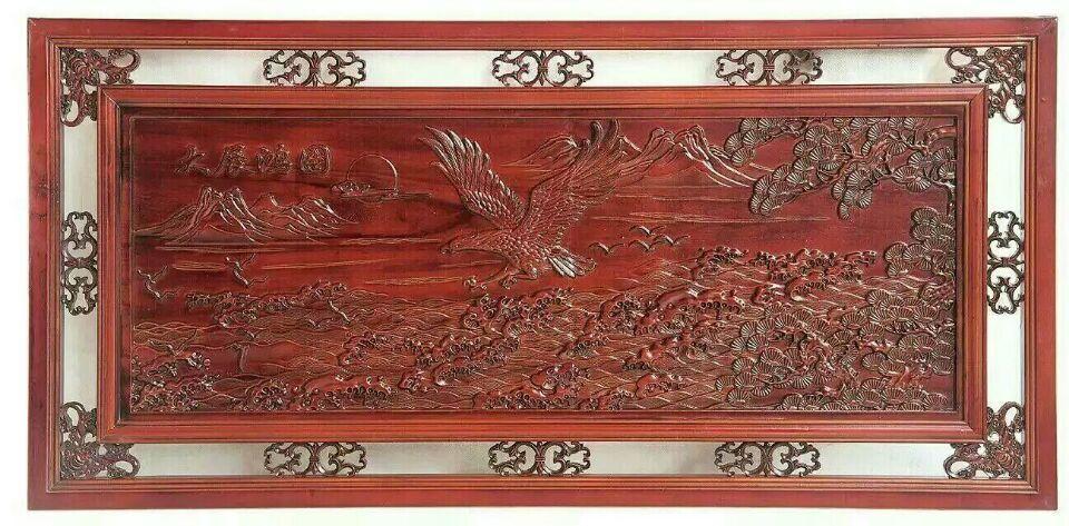 丨郑州木雕背景墙丨浮雕牌匾订做丨郑州木雕木花,门花加工丨郑州精艺