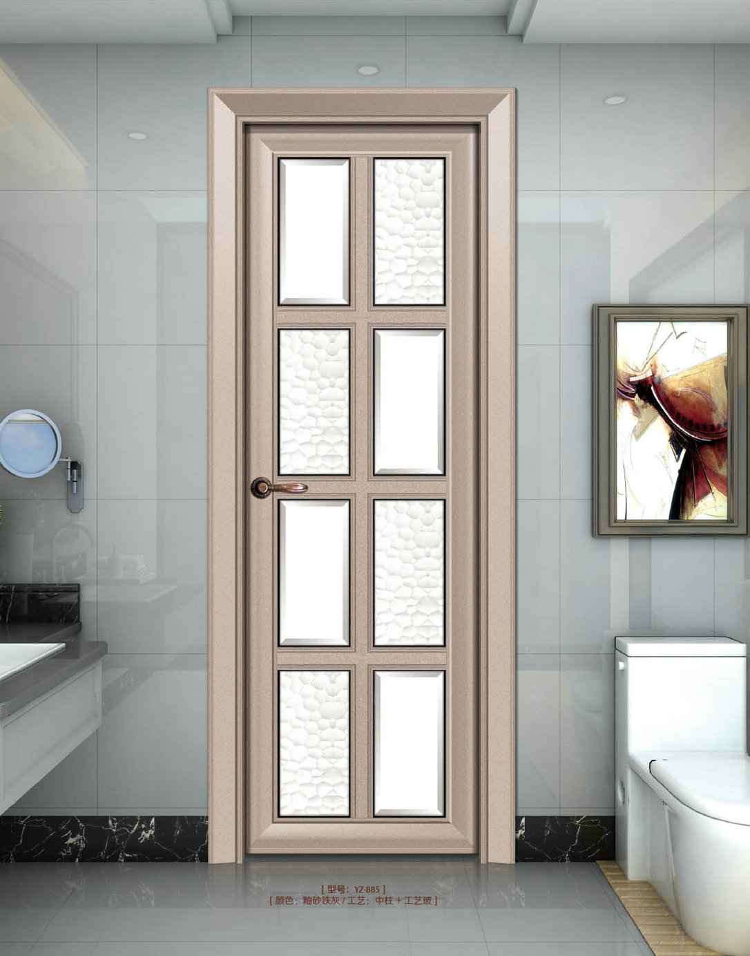 欧式阳台门框造型图片