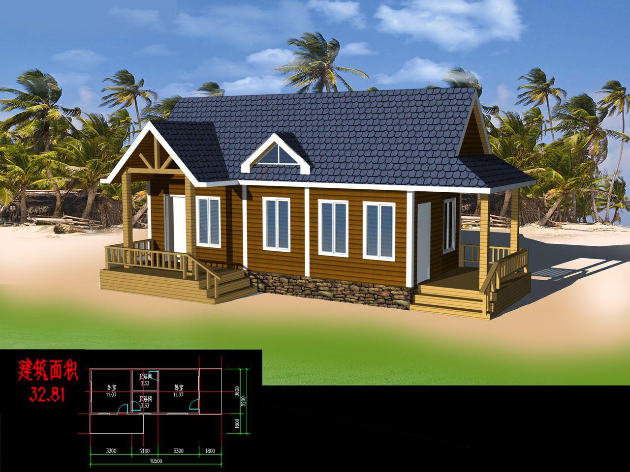 濮阳木屋木屋别墅设计农家乐木屋建造