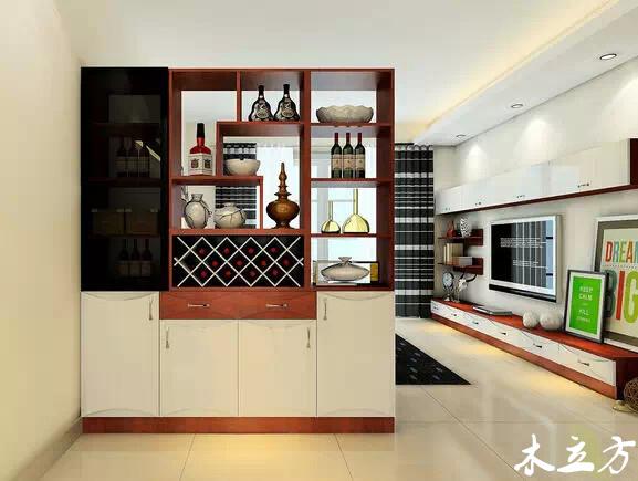 客厅隔断柜-空间家具-重庆市木立方装饰设计有限公司