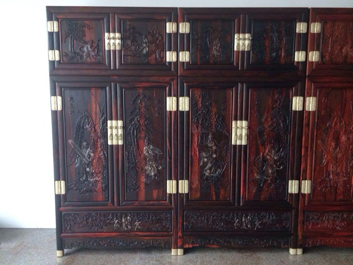 红木家具08 陕西西安巴花大板丨陕西西安红木家具