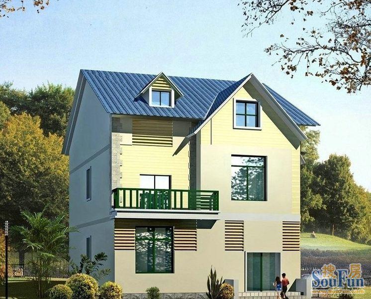 别墅外观图片大全 经济型新农村住宅设计效果图