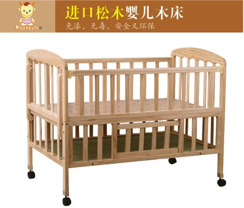 儿童实木床 婴儿实木床
