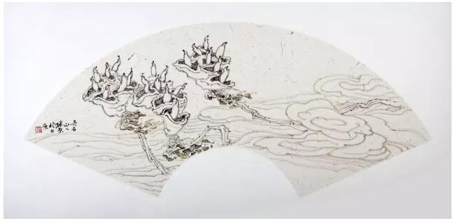 【展讯】《菡影清风》——赵继原禅意工笔画作品展