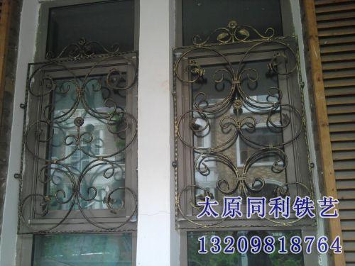 欧式铁艺艺术护窗-5