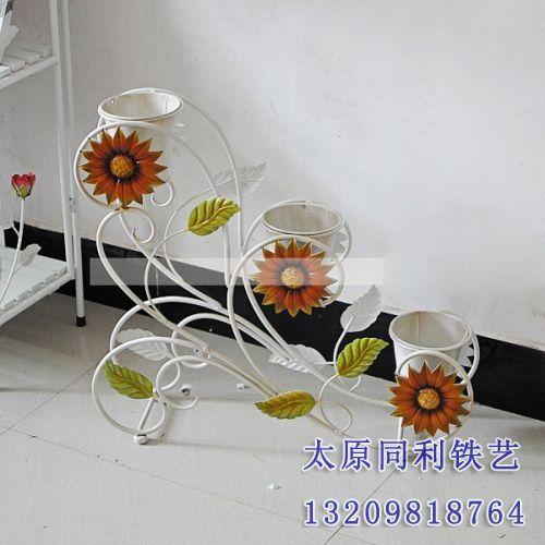 欧式铁艺艺术花架-37-【欧式铁艺艺术花架】-太原同利