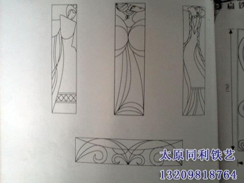 铁艺屏风-10-【欧式铁艺屏风】-太原同利铁艺装饰