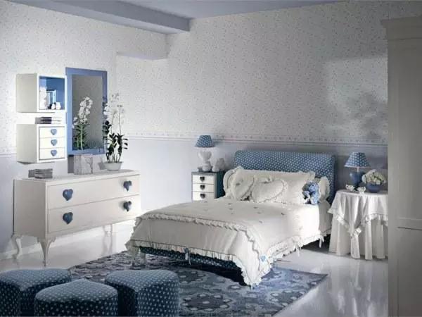 超級美少女臥室裝修設計