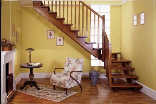 名府木艺:楼梯装修效果图 为家居设计加分