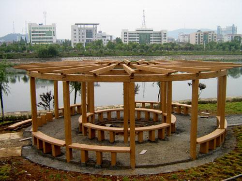 河南碳化木防腐木,河南园林防腐木