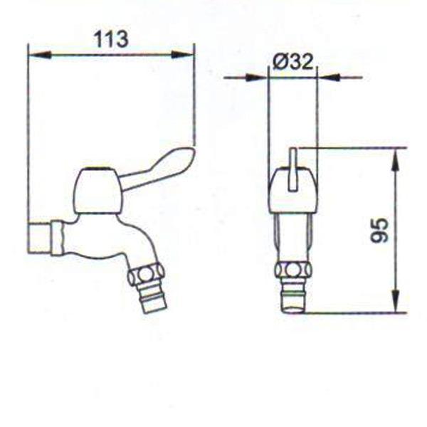 yl-20011洗衣机角阀图片